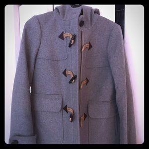 J Crew Melton Wool Classic Duffel Coat